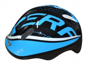 Kask rowerowy HAPPY BLUE AXER BIKE