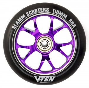 Kółko do hulajnogi SLAMM V-Ten II 110 mm Alu Core - PURPLE